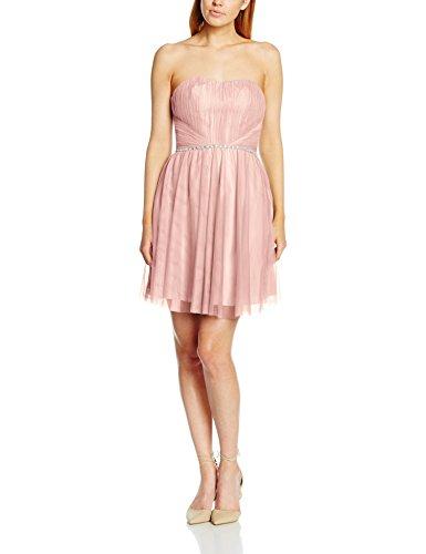 Laona Damen Kleid LA81716, Rosa(Cream Pink), 44 (Herstellergröße: XXL)