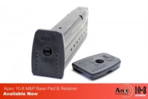 Apex Tactical 10-8PERFORMANCE S & W M & P Base Pads Tactical Spezialitäten
