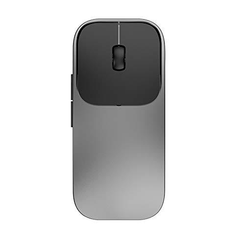 NCBH Drahtlose Bluetooth-Maus Sp Künstliche Intelligenz-Spracherkennung Tippen-Maus, 2,4 GHz Wireless Smart Mouse - Spracheingabe für Büro und Spiele,Gray