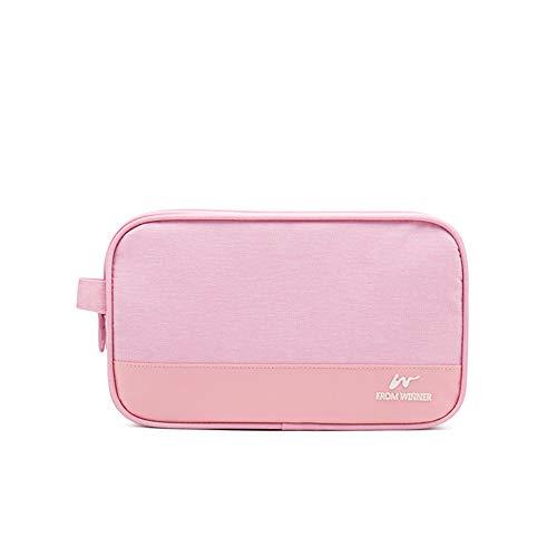 Reißverschluss Kosmetiktasche Frauen einfache Reise Schönheit Fall tragbare Waschen Make-up Tasche Make-up Organizer Halter