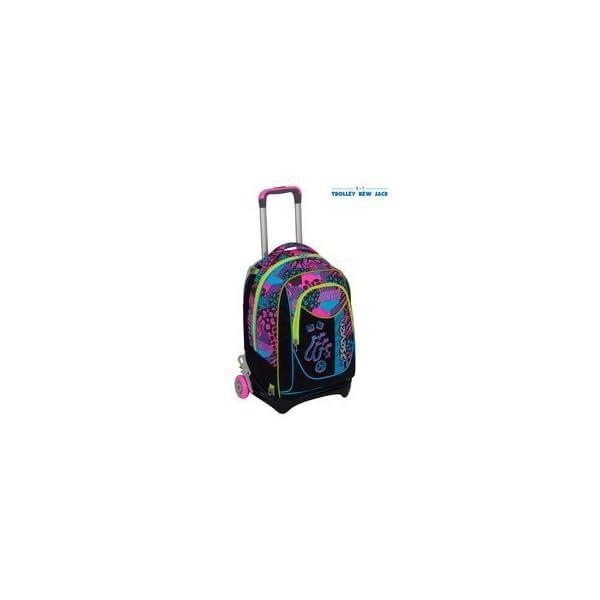 7cbeb3f49f ... SEVEN NEW JACK – SWAG GIRL – Nero Rosa – SGANCIABILE e LAVABILE –  Scuola e viaggio. 🔍. Trolley ...