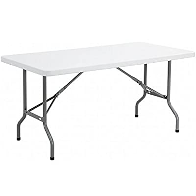 Crystals Premium Quality Heavy Duty 1.8m/6ft Folding Catering Camping Trestle Table for Dinner & Picnic Party
