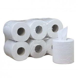 Spule Papierhandtücher Docht glatt (Pack 6Stück)