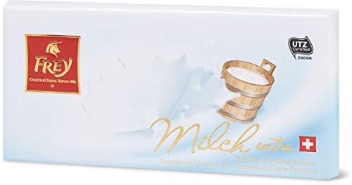 Preisvergleich Produktbild Frey Milchschokolade Tafel 'Milch extra fein',  10 Tafeln x 100 g,  1000 g