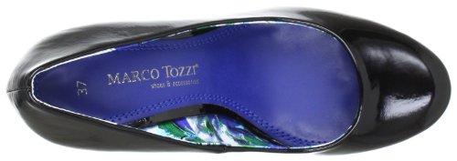 Marco Tozzi 2-2-22429-20, Scarpe col tacco donna Nero (Schwarz (BLACK PATENT 018))