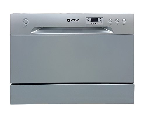Koryo KDW496DS Dishwasher - 6 Place Settings - Grey