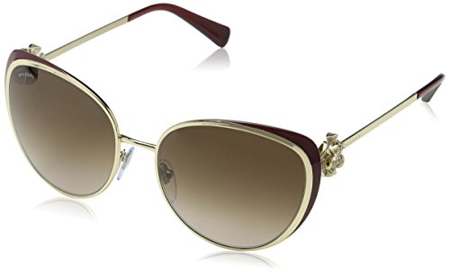 Bulgari Damen 0Bv6092B 278/13 57 Sonnenbrille, Gold (Burdy/Brown)