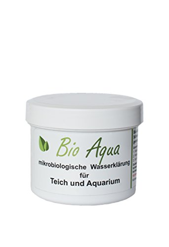 BioAqua | Wasserklärung für Teich und Aquarium | für komplette Saison | gegen Faden- Schmieralgen und grünes Wasser