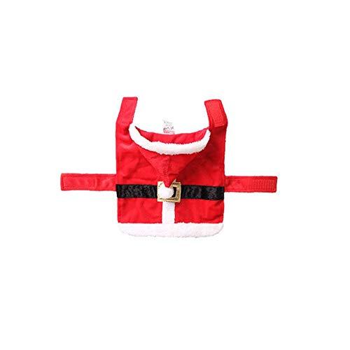pplies Pet Kostüm Weihnachten Kleid Prinzessin Hundekleidung Katze Kleid Rot ()