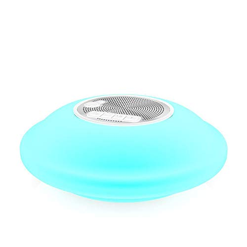 AOVOI Colorido Ipx7 Nivel Impermeable Piscina Flotante ventilación al Aire Libre de Bluetooth Altavoz TWS Stereo Inicio Escritorio Portab Le estéreo Altavoces