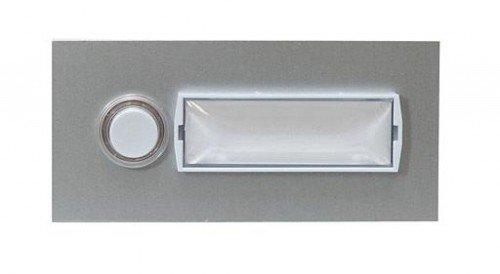 FriedlandDoorbell buttons Silver (matte, anodised)