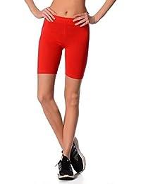 57fe7358a4e919 Dykmod Damen Kurze Leggings Shorts Sport Radlerhose 36 38 40 42 44 46