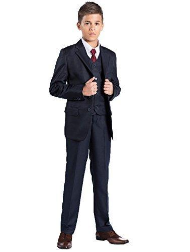 Shiny Penny–Kostüm für Jungen Gr. 13-14 Jahre, marineblau (Jungen Anzüge Kommunion Für)