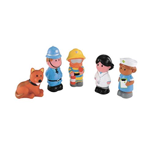 Early Learning Centre ELC Happyland Glückliche Helden Collection. Spielzeug aus Großbritannien importiert.