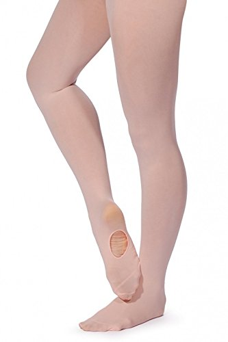 Mytoptrendz® Women's Ladies Convertible Tights Microfibre Transition/Convertible Foot Ballet- Dance Tights Pantyhose - All Adults size