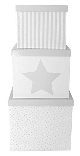 JaBaDaBaDo A3107 Toy Storage Box Spielzeug- und Aufbewahrungsboxen - Spielzeug- und Aufbewahrungsboxen (Toy Storage Box, grau, unabhängig, Bedruckt) (Spielzeug Box Storage)
