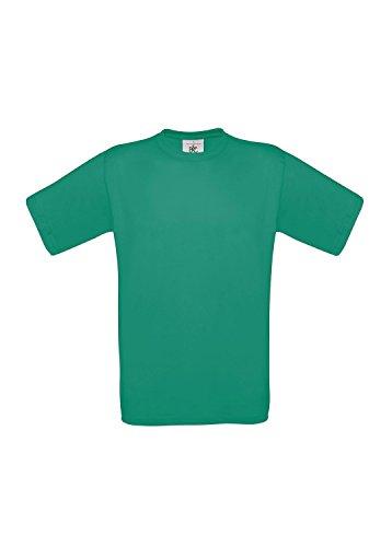 3er-Pack T-Shirt Exact 190 Herrenshirt kurzarm 3 T-Shirts Shirts B&C BCTU004 Pacific Green