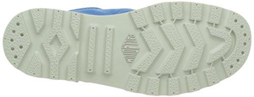 Palladium Baggy Low Lp F, Baskets Hautes Femme Bleu (B83 Methyl Blue/Silver Birch)