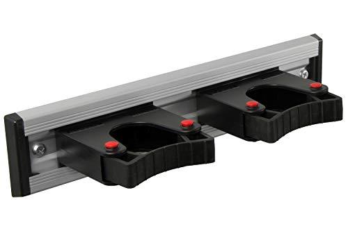 Toolflex-Stockhalter-Set für Wandmontage Durchmesser 20-30 mm