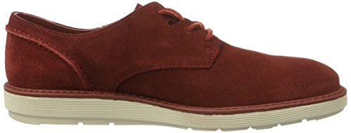 Clarks Fayeman Lace, Scarpe Stringate Uomo Rosso (RED SUEDE)