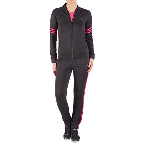 Adidas CY3515 Performance Adidas Maillot de Loisir avec col Montant élastique en Polyester, Taille XL/S Noir
