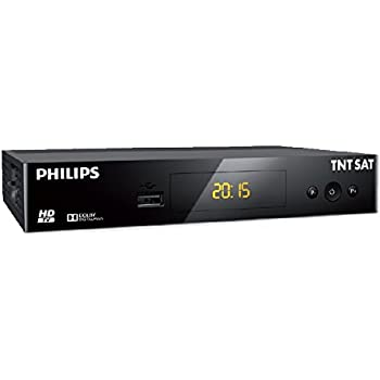 PHILIPS - TNT SAT DSR3231T Récepteur TV HD Satellite - Noir