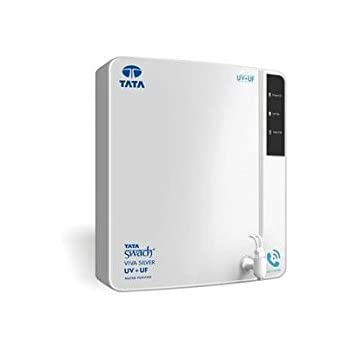 Tata Swach Viva Silver UV+UF Wall Mounted 6-LitreWater Purifier (Blue/White)