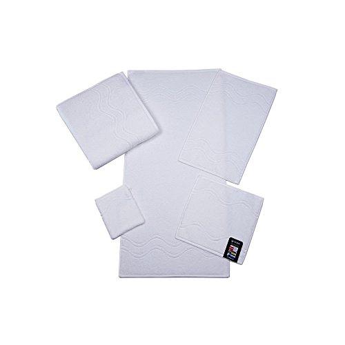 Preisvergleich Produktbild Ross Uni-Walk Handtücher Cashmere 9008 weiss Gästetuch 30x50 cm