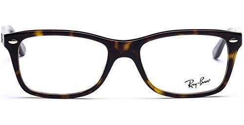 Ray-Ban Damen Brillengestell 0rx 5228 2012 55, Braun (Dark Havana)