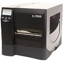 Zebra ZM600 - Impresora de etiquetas (Térmica directa, 203 x 203 DPI, 203 mm/seg, USB 2.0, 16 MB, 64 MB) Negro, Plata