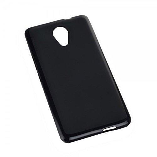 Dark Case Style - Silikon TPU Handy Cover Hülle Schale Kappe in Schwarz - für Wiko Robby - Schutz Schutzhülle - (Bulk)