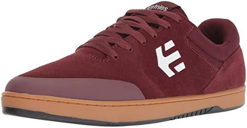 Etnies Herren Marana Skateboardschuhe, Rot (Burgundy/Tan/White 612), 43 EU - Skateboard Schuh
