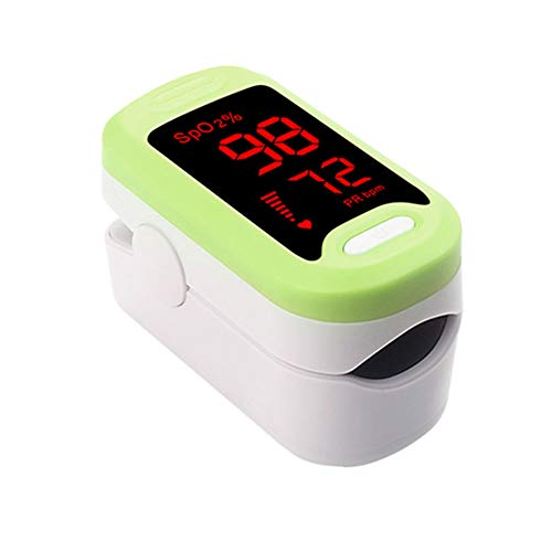Fesjoy Tragbares Fingerclip-L-ED B-lood Sauerstoff-Puls-Monitor für Kinder Erwachsener