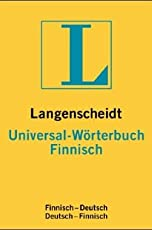 Finnisch. Universal-Wörterbuch. Langenscheidt