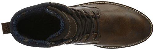 Mustang Herren 4900-501 Kurzschaft Stiefel Braun (32 dunkelbraun)
