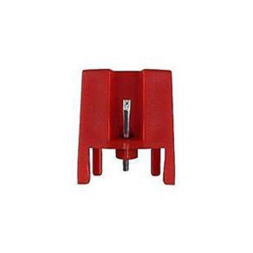 Diamant Stylus Keramik Moving Magnet Ersatz Nadel Stylus für iont Crosley Plattenspieler Record Player (rot)-1PCS (Ionen-records)