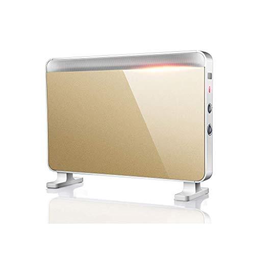 YIKUI Raumheizung-Haushalt-Einstellbare 3-Wärme-Einstellungen Portable 2100W Ipx2 Wasserdicht Mit Falt Speicherregal (Portable öl Gefüllt Heizung)