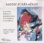 Notes d'Arménie - Musique pour piano 2 & 4 mains