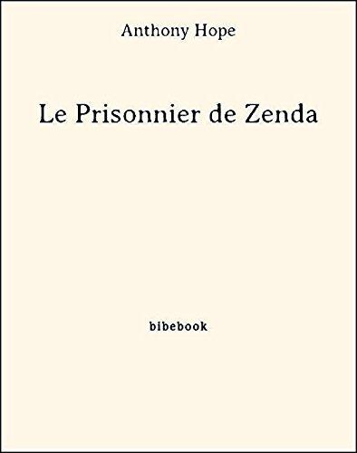 Couverture du livre Le Prisonnier de Zenda