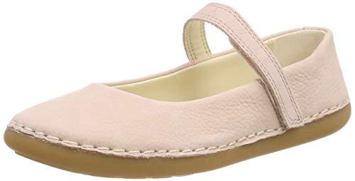 Clarks Mädchen Skylark Tap K Geschlossene Ballerinas, Pink Sparkle Leather, 30 EU