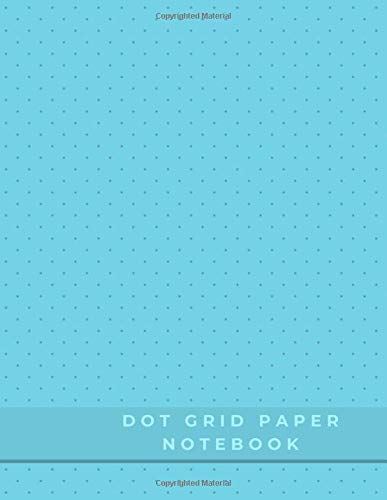 Dot Grid Paper Notebook: Dot Grid Paper Graph Dotted Journal Notebook Large 8.5 x 11 inches - 104 pages (Volumn 42)