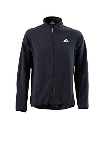 adidas Sailing Herren Microfleece Jacke Full Zip Men, Farbe:schwarz, Größe:S