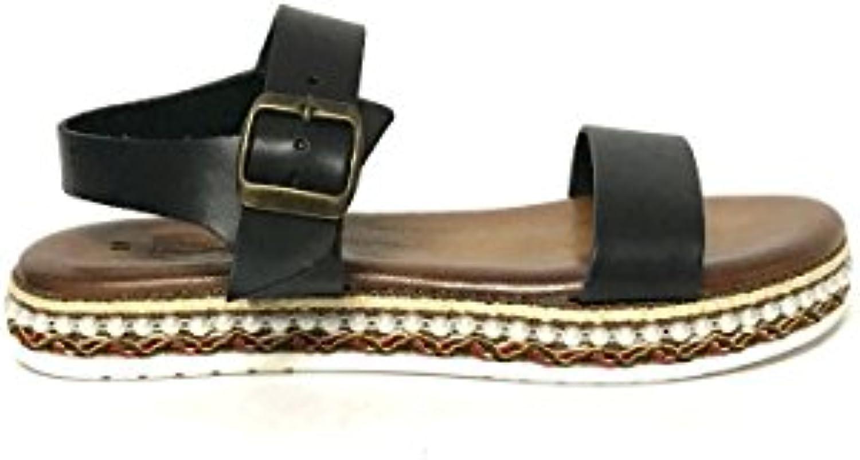 Botas Nuevas para Mujer Summer Mesh Lacing Zapatos de Tacón Alto Sandalias de Cuña para Mujer -