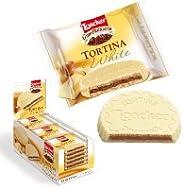 Loacker White Tortina, 21 gm