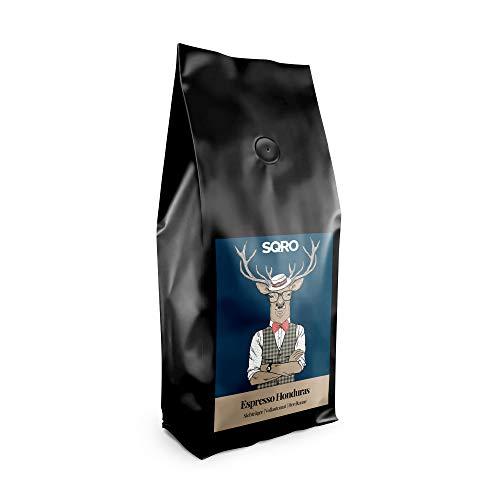 Espresso Bohnen 1 kg von 1Expresso | 100% Arabica Kaffeebohnen aus Honduras (1000g) | Fairer Handel | säurearme, mittlere, handgeröstete Espressobohnen | Single Origin Espresso