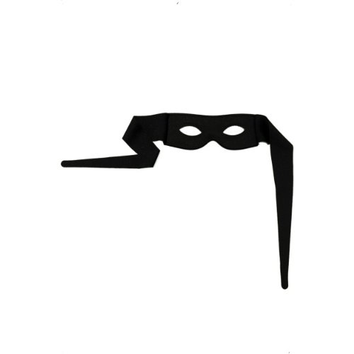 Smiffys Halloween Karneval Augenmaske Augenbinde Bandit zum Kostüm