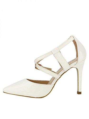 Cendriyon, Escarpin Blanc STAR MISS Chaussures Femme Blanc