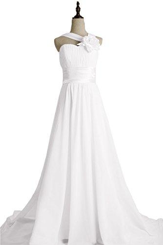 TOSKANA BRAUT - Robe - Trapèze - Femme Blanc - blanc