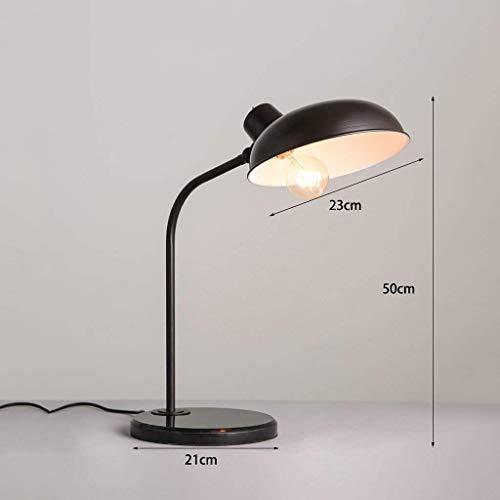 ChuanHan Ceiling Fan Light Chandelier Lightings Table Lamp Industrial Iron Desk Office Curved Study Desktop Led Table