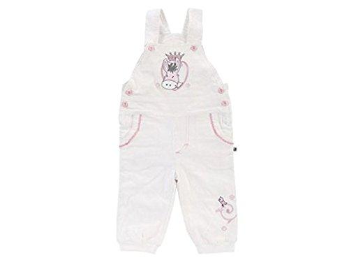 Jacky Baby Latzhose PRINCESS POLLY 1500 off-white Mädchen Größe 68